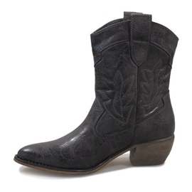 Gray cowgirl boots 10601-1 grey 2