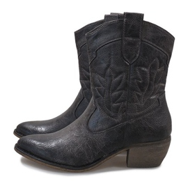 Gray cowgirl boots 10601-1 grey 4