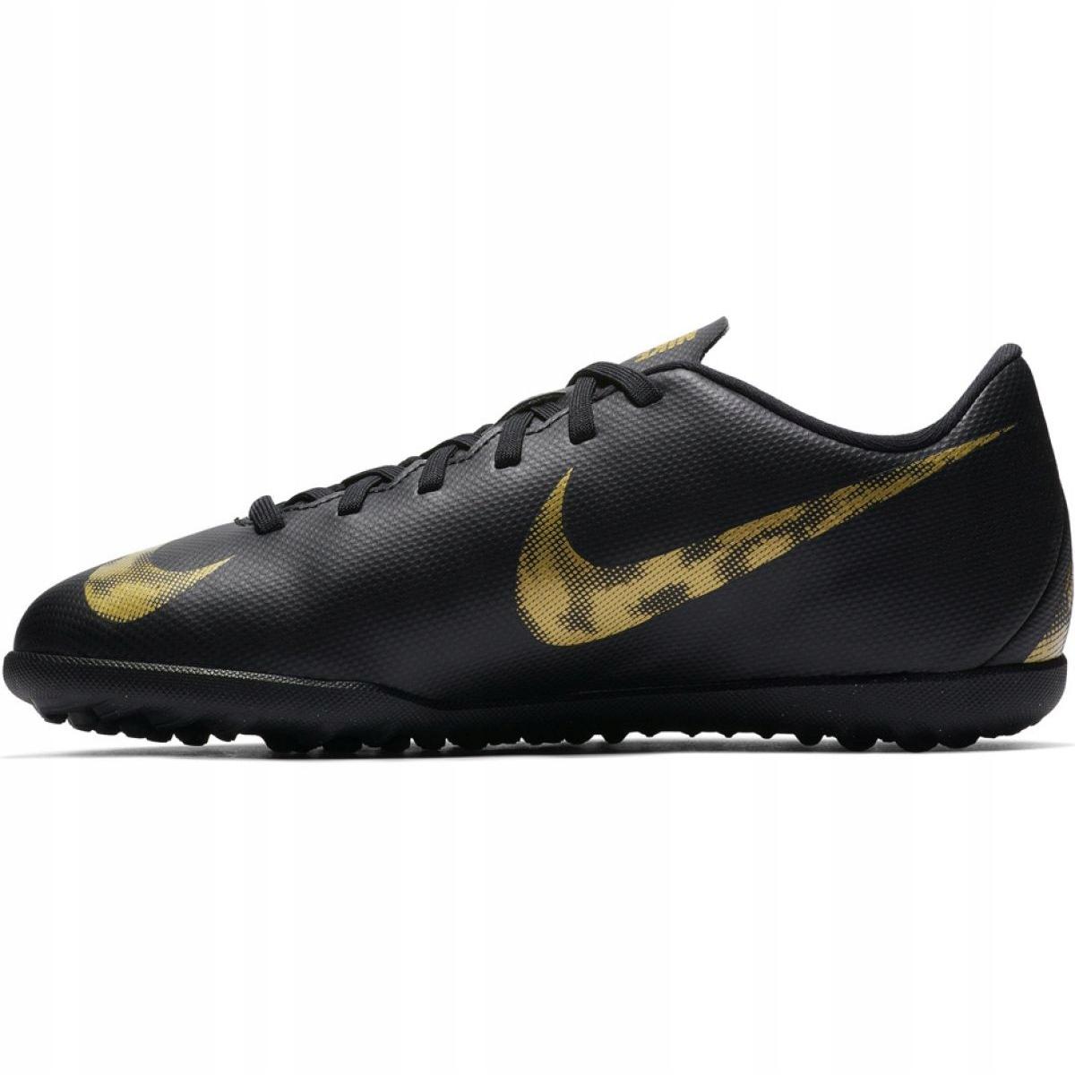 Encadenar robo Tener cuidado  Nike Mercurial Vapor X 12 Club Football Shoes Tf Jr AH7355-077 black  multicolored - ButyModne.pl