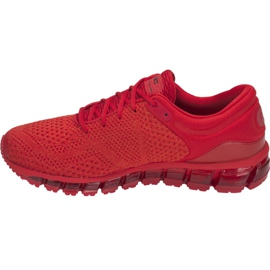 Running shoes Asics Gel-Quantum 360 Knit 2 M T840N-602 red 1