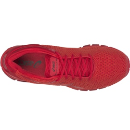 Running shoes Asics Gel-Quantum 360 Knit 2 M T840N-602 red 2