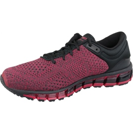 Running shoes Asics Gel-Quantum 360 Knit 2 M T8G3N-001 red 1