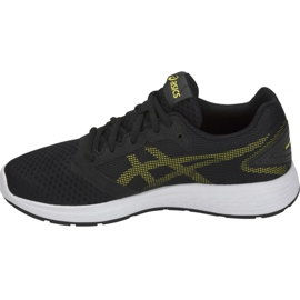 Shoes Asics Patriot 10 Gs Jr 1014A025-002 black 1