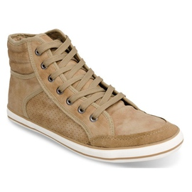 501 Camel High Boxer Sneakers brown 2