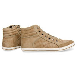 501 Camel High Boxer Sneakers brown 4