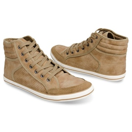 501 Camel High Boxer Sneakers brown 3