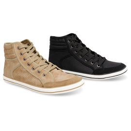 501 Camel High Boxer Sneakers brown 1