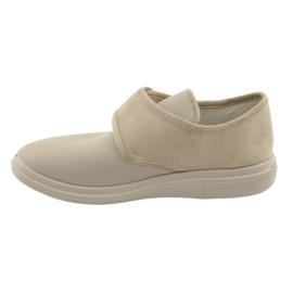 Befado women's shoes pu 036D005 beige 3