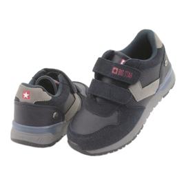 Big star 374084 navy blue sports shoes grey 4