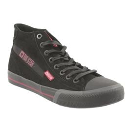 Black Big Star 174084 sneakers red 1