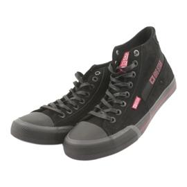 Black Big Star 174084 sneakers red 3