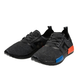 Black MD01A-6 sports footwear 2