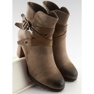 Ankle boots brown 8287 Khaki 3