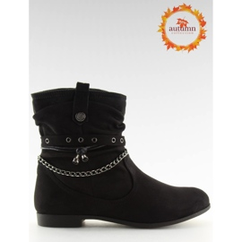 Ankle boots black 3767 Black 7
