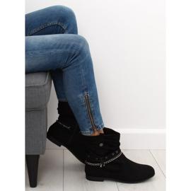 Ankle boots black 3767 Black 3
