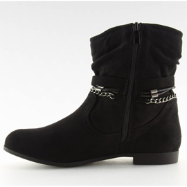 Ankle boots black 3767 Black 2