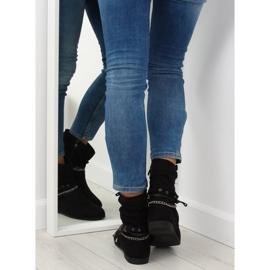 Ankle boots black 3767 Black 4