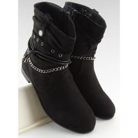 Ankle boots black 3767 Black 5