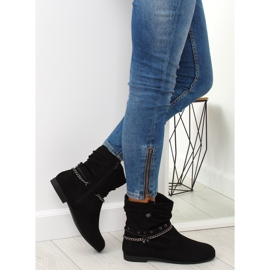 Ankle boots black 3767 Black 6