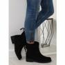 Black ladies shoes 7378-PA Black 1