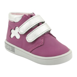 Mazurek velcro boots pink grey 1