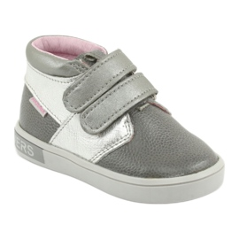 Velcro shoes Mazurek 1355 grey 1