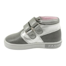 Velcro shoes Mazurek 1355 grey 2