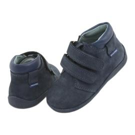 Boys' shoes with Velcro Mazurek 341 navy blue 4