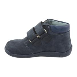 Boys' shoes with Velcro Mazurek 341 navy blue 2