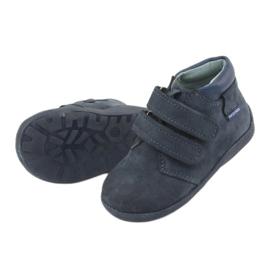 Boys' shoes with Velcro Mazurek 341 navy blue 5