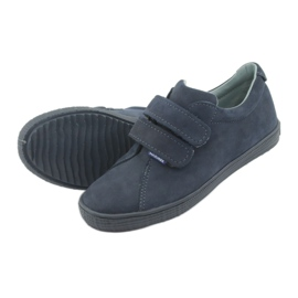Boys' shoes Velcro Mazurek 268 navy blue 5