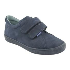 Boys' shoes Velcro Mazurek 268 navy blue 1