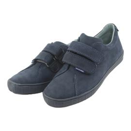 Boys' shoes Velcro Mazurek 268 navy blue 3