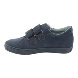 Boys' shoes Velcro Mazurek 268 navy blue 2