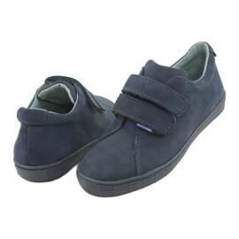 Boys' shoes Velcro Mazurek 268 navy blue 4