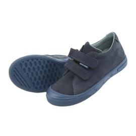 Boys' shoes Mazurek 1267 navy blue 5