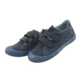 Boys' shoes Mazurek 1267 navy blue 3