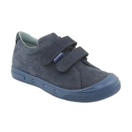 Boys' shoes Mazurek 1267 navy blue 1