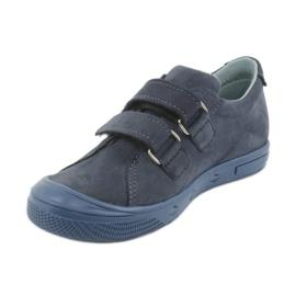 Boys' shoes Mazurek 1267 navy blue 2
