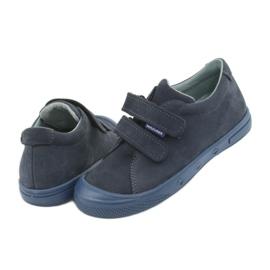 Boys' shoes Mazurek 1267 navy blue 4