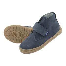 Velcro shoes Mazurek 106 navy blue 5
