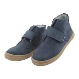 Velcro shoes Mazurek 106 navy blue 3