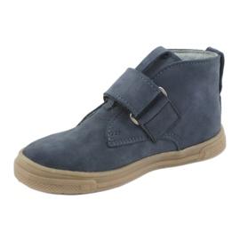 Velcro shoes Mazurek 106 navy blue 2