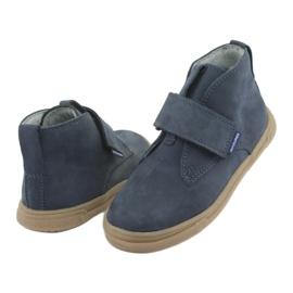 Velcro shoes Mazurek 106 navy blue 4