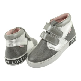 Mazurek Gray and silver Fashion Lovers shoes grey 4