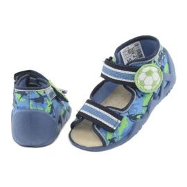 Befado yellow children's shoes 350P002 blue green 5