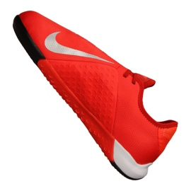 Indoor shoes Nike Phantom Vsn Academy Ic Jr AR4345-600 red orange 1