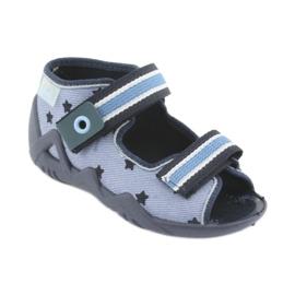 Befado blue children's shoes 250P079 1