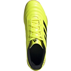 Adidas Copa 19.4 In M F35487 football shoes yellow black 1