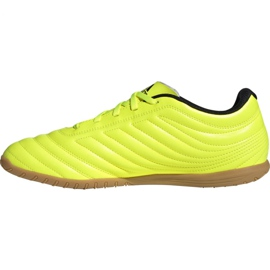 Adidas Copa 19.4 In M F35487 football shoes yellow black 2